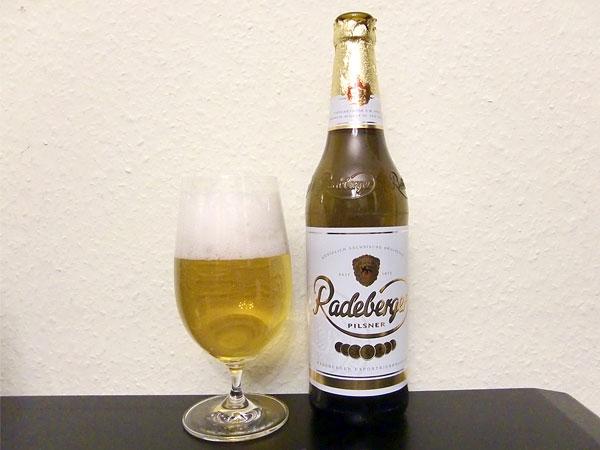 ラーデベルガー・ピルスナー(Radeberger Pilsner)のレビュー