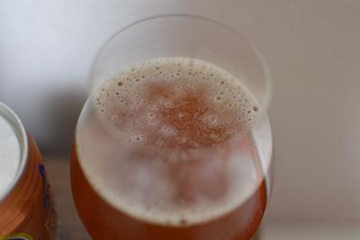 銀河高原ビール 「ペールエール」泡持ち