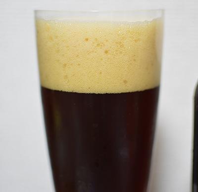 ルネサンスビール 「ストーンカッター スコッチエール」の外観