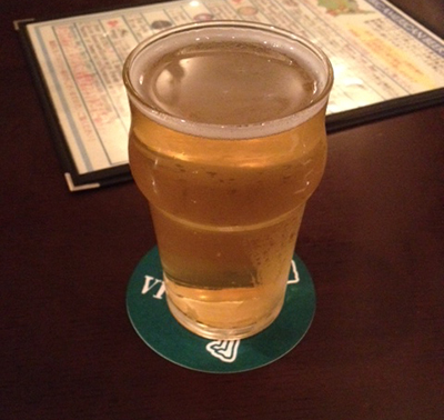 1杯目のビールはアメリカンセッションIPA