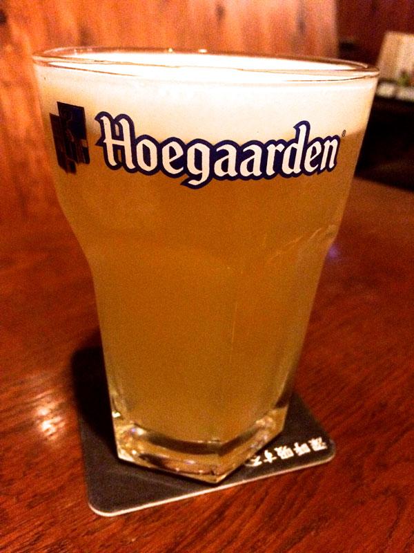ヒューガルデン(ベルギービール)