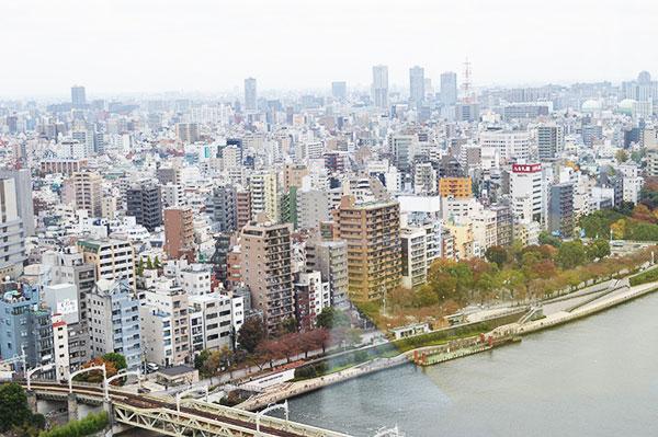 ラ・ラナリータ吾妻橋店の眺め