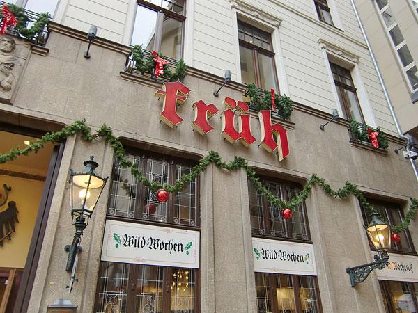 ドイツ・ケルンの「Früh am Dom(フリュー・アム・ドム)」に行ってきました