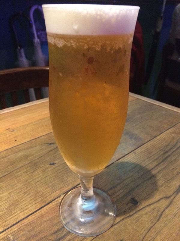 ドラフトビール エーデルピルス