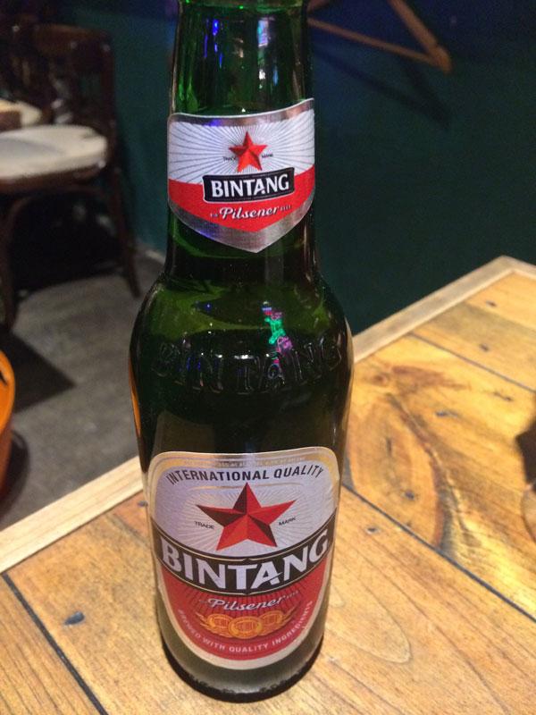 ビンタン(インドネシアビール)