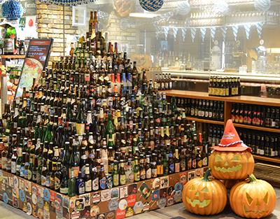 世界のビール博物館 東京スカイツリー・ソラマチ店に到着