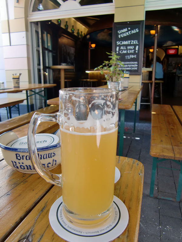 ビール「ボンシュ」