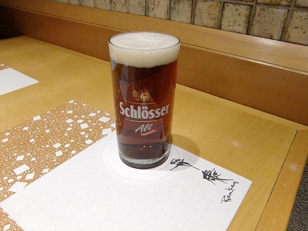 デュッセルドルフの地ビール「アルトビア」