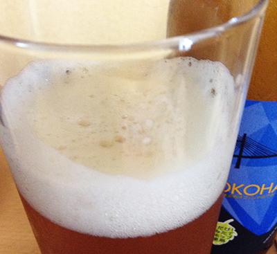 YOKOHAMA XPAの泡