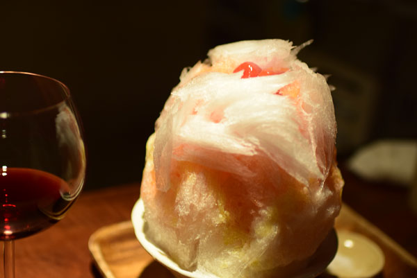 かき氷(トマト)