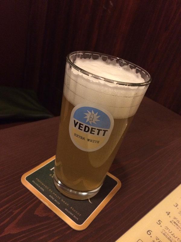 サンタルヌー1杯目のビールはウェデットエクストラホワイト
