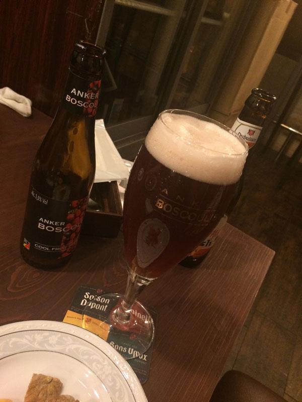 フルーツビール「ANKER Boscoli」
