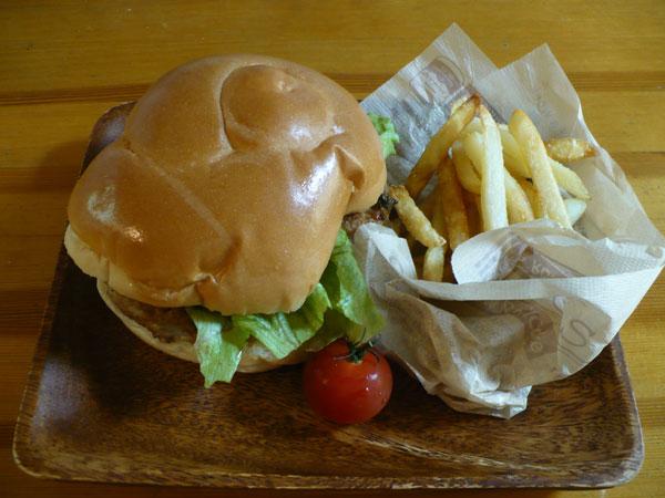 ディーゼルと合うおつまみハンバーガー