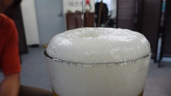 プロが推奨!ビールの注ぎ方(つぎ方)ポイントは3度つぎ