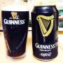 黒ビール「ドラフトギネス(缶)」の味は?飲んだ感想