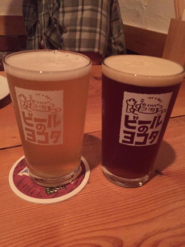 「ビールのヨコタ」で注文「AOIブリューイング」